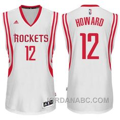 houston rockets 12 dwight howard revolution 30 swingman red jersey 06fa0a397