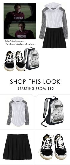 """""""Liam Dunbar - tw / teen wolf"""" by shadyannon ❤ liked on Polyvore featuring American Eagle Outfitters, NIKE, Monki, Vans and Episode"""