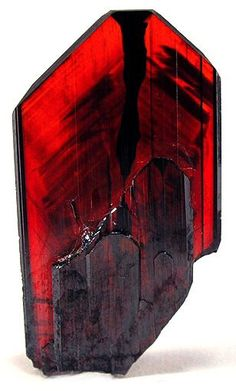 Brookite - titanium dioxide, TiO2 Size 2.3 x 1.3 x 0.1 cm. From Kharan, Balochistan (Baluchistan), Pakistan.