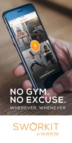 Don't ever feel guilty for missing the gym again. #NoGymNoExcuse
