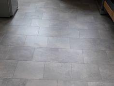 Grey Amtico Flooring Installed to a Kitchen
