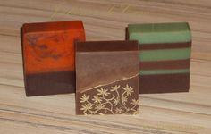 Jabón artesano natural chocolaterapia