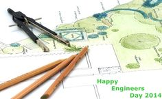 Happy Engineers Day from sendflowerstoindia