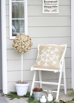 Winter Porch by Design, Dining + Diapers
