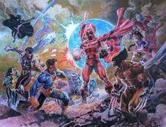 X-Men vs Magneto by Ardian Syaf