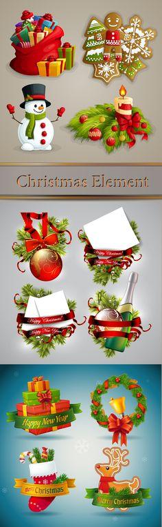 Блог Колибри: Christmas Element