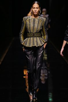 Balmain Fall 2014 Ready-to-Wear Collection Slideshow on Style.com