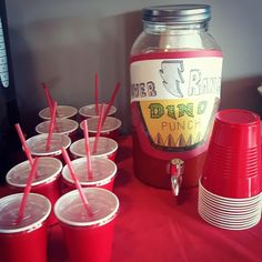 Power Rangers Dino Charge birthday party punch