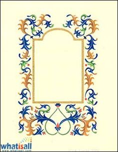 Book of Shadows: Acanthus Leaves Tutorial. Calligraphy Tutorial, Calligraphy Pens, Calligraphy Alphabet, Islamic Calligraphy, Illuminated Letters, Illuminated Manuscript, Medieval Crafts, Elements Of Color, Illumination Art