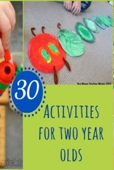 20 quick easy activities for 2 year olds kids pinterest