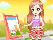 Free Online Girl Games, Step outside and get ready to paint a beautiful portrait in Outdoor Sketching in the Spring! Choose a nice outfit for the warm weather and then go to work on your painting! See what type of fun outfit you can create! Online Girl Games, Games For Girls, Outdoor Play, Your Paintings, Going To Work, Free Games, Warm Weather, Work On Yourself, Sketching