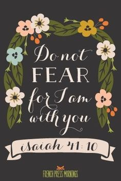 Free Printable for the home from French Press Mornings, featured For weekly {printable} encouragement. Bible Scriptures, Bible Quotes, Qoutes, Faith Quotes, Quotations, French Press Mornings, Encouragement, Favorite Bible Verses, Do Not Fear