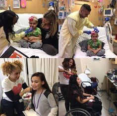 Ciara Gives Complimentary Makeovers at Seattle Childrens Hospital1966 Magazine