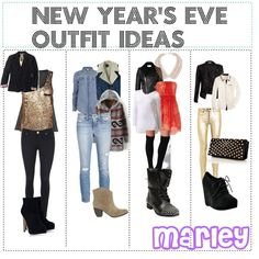 """New Year's Eve Outfit Ideas"" by poly-tip-gurls on Polyvore"