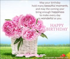 Are you looking for inspiration for happy birthday wishes?Browse around this site for perfect happy birthday ideas.May the this special day bring you happy memories. Religious Birthday Wishes, Happy Birthday Flowers Wishes, Birthday Greetings For Women, Happy Birthday Wishes Quotes, Birthday Wishes And Images, Birthday Blessings, Happy Birthday Pictures, Birthday Quotes, Birthday Images