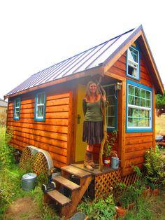 Hangin' at Ella Jenkins Tiny House in California- A photo tour…. | Tiny House News
