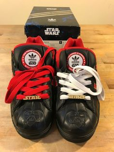b1ca5381058 STAR WARS ADIDAS SNEAKER SHOE ULTRASTAR S.W. NEW! 9.5  fashion  clothing   shoes