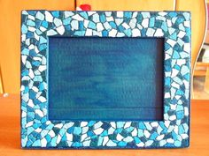 Eggshell Mosaic Picture Frame | Community Post: 9 Awesome DIY Mosaic Projects