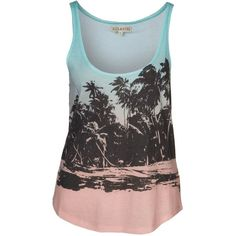Billabong ON THE BEACH Top ($46) ❤ liked on Polyvore