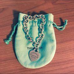 "TIFFANY & CO Bracelet Authentic Tiffany & Co ""Return to Tiffany"" heart tag bracelet. Sterling silver. Tiffany & Co. Jewelry Bracelets"