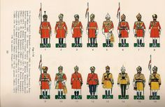 British Indian Cavalry Regiments  Governor General & Presidency Governors Bodyguards & Skinners 1st Horse c.1900