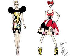 Minnie Mouse será homenageada na Semana de Moda de Londres! ;D