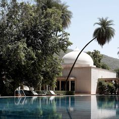 The majestic bolthole of Amanbagh is sequestered in the Aravalli mountain range in India's Rajasthan. Spend languid mornings by the palm-shaded pool before exploring the Sariska National Park, home to tigers, jaguars and sambar deer