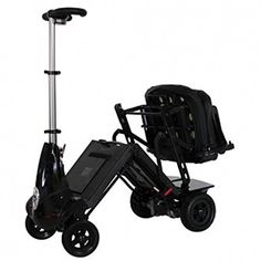 Solax Mobility  Mobie Classic  Folding Travel Scooter  4Wheel  Black <3 Clicking on the image will lead you to find similar product