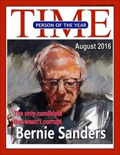 Bring Bernie Back.  That's my Bernie - not just 'man of the year', but 'person of the year.' :)  Dave, Red (neither white nor black) want me working in technology - it exposes the past 10 years of fraud, and unlawful treatment of me in the workplace& the thugs I have worked for. If I work for an honest, solid tech firm now, I will blow it away in sales&Red will hv court sentencing. Stop dealing w/Red as ppl-thy r thugs&nd bdealt w tht way. Confimr.
