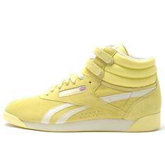 Reebok Freestyle Hi - Pastel - Yellow  90,00 €
