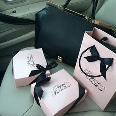 Agent Provocateur. Oh, those pink boxes