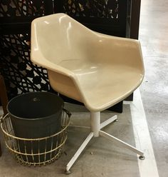 Mid Century Herman Miller Stye Swivel Chair $140 Mid Century Dallas Booth #766 Lula B's in the OC! 1982 Ft. Worth Ave. Dallas, TX 75208