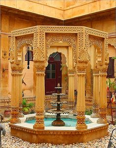 The Desert City of Jaisalmer, India