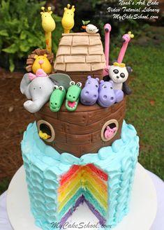 Noah's Ark Cake Video- by MyCakeSchool.com