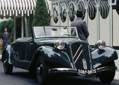 Citroen Traction Avant 11B Cabrio (1938)
