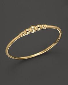 Lagos 18K Gold Stacking Ring | Bloomingdale's