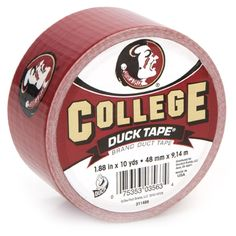 Who doesn't love FSU Duck Tape?!?!