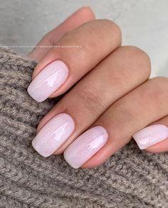 Frensh Nails, Nude Nails, Hair And Nails, Neutral Nails, Jolie Nail Art, Milky Nails, Pink Nail Art, Manicure Y Pedicure, Pretty Nail Art
