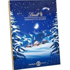 And this would be my favorite one :) Lindt & Sprüngli Weihnachts-Zauber, Erwachsenen-Adventskalender