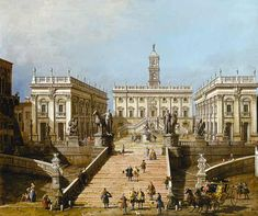 Canaletto in Rome