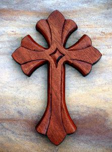 Size: 12 x 8 Material: Solid Wisconsin White Oak 3 stars and Painted Wooden Crosses, Wood Crosses, Cross Art, Cross Crafts, Woodworking Wood, Scroll Saw, Wooden Crafts, Wood Carving, Wood Art