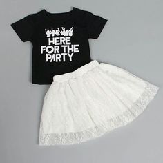 Here for the party Girl Set