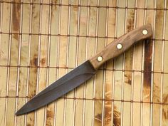 Vintage Kitchen Knife Chicago Cutlery Chef's Knife Reconditioned Full Tang Blade #ChicagoCutlery