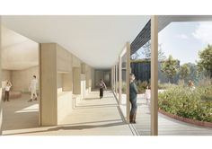 CREO and JAJA to Design Home for Children with Autism Near Copenhagen,Corridor. Image © CREO and JAJA