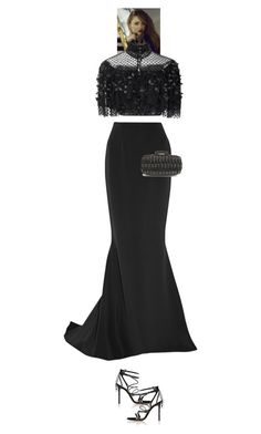 """Renesmee #8474"" by canlui ❤ liked on Polyvore featuring Rodarte, Reem Acra, Givenchy, Gianvito Rossi and Oscar de la Renta"