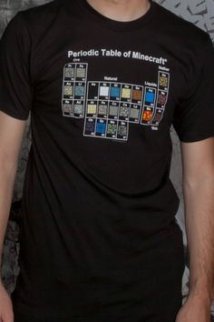 51 best shirts to buy images on pinterest conditioning classic isaac or sam isaac size l and sam m jnx minecraft periodic table premium tee clothing inspired by video games geek culture urtaz Gallery