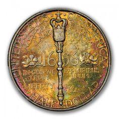 NORFOLK 1936 50C Silver Commemorative PCGS MS68 #LSRC #PCGS #BEAUTY