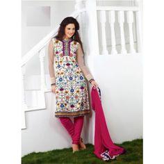 Fascinating Georgette Salwar Suit