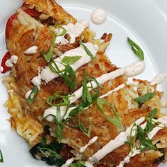 Your Kitchen Will Thank You For Making These Stuffed Hashed Brown Omelettes