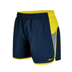 "Nike Swim Men's Color Surge Current 4""Volley Short Midnight Navy"